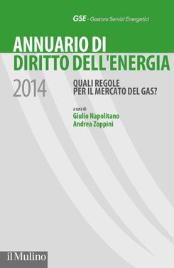 copertina Annuario di diritto dell'energia 2014
