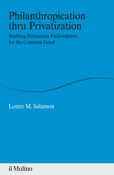 Cover Philanthropication thru Privatization