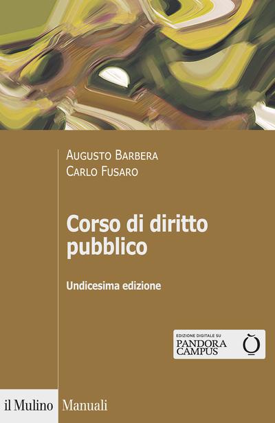 Cover Corso di diritto pubblico